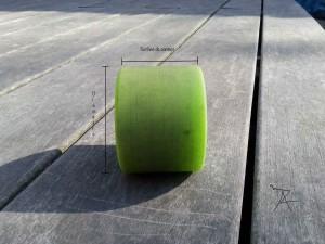 Dimensions d'une roue
