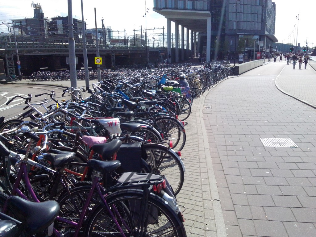 Welcome to Amsterdam - the cycle-city.
