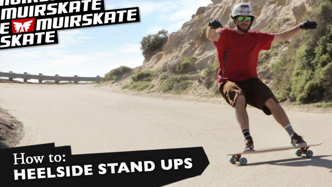 Trick Tip slide – Heelside Stand up slide