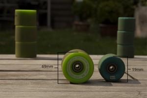 Longboard / Cruiser roues