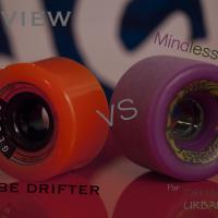 Globe drifter & Mindless Maji longboard wheels