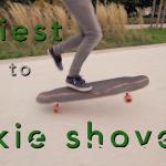 Trick tips longboard – Le fakie shove-it [explications + vidéo]
